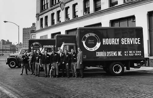 1950s archive photo of staff
